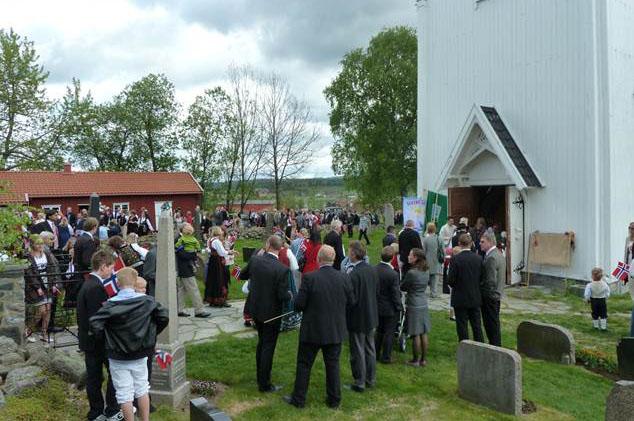 17. mai Kråkstad kirke