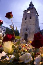 Domkirken og rose
