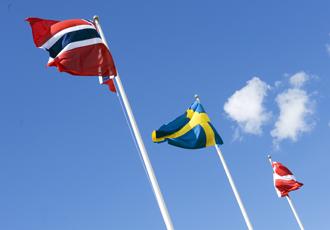 Profilbilder Flagg Skandinavia